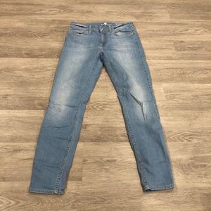 7 For All Mankind 7FAM The Ankle Skinny Jeans 27